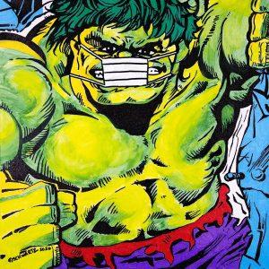 sam schwartz hulk painting