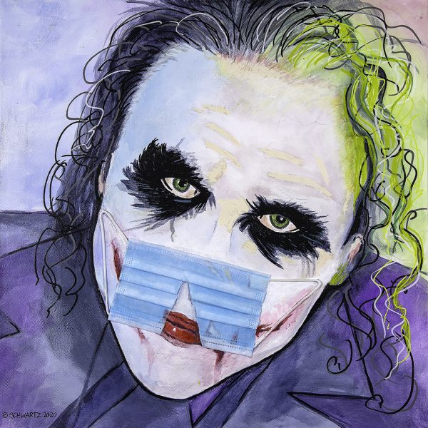 sam schwartz joker painting