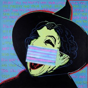 sam schwartz wicked witch painting